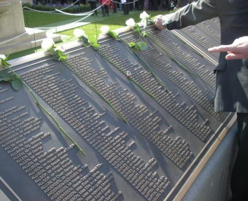 Bronze Titanic Memorial Belfast